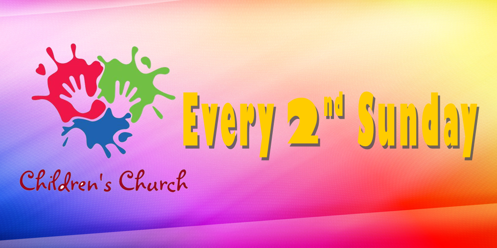 Children's Church - Every Second Sunday